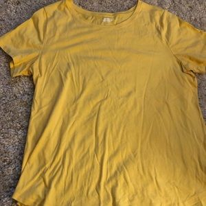 Old navy yellow tee. Size large